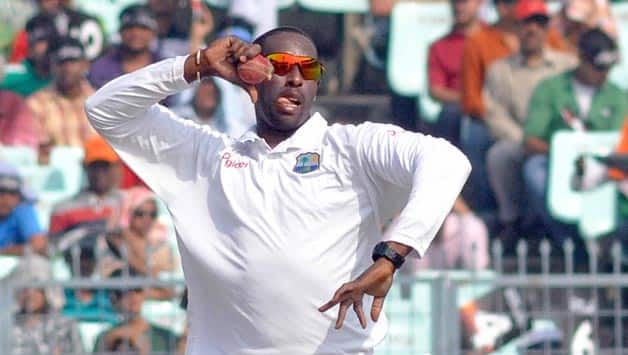 India vs West Indies 2nd Test at Mumbai: Shane Shillingford registers fifth consecutive five-fors in Test cricket