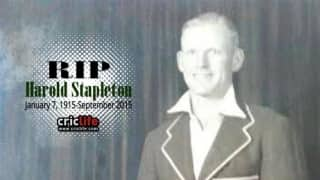 The oldest Australian cricketer Harold Stapleton dies at the age of 100