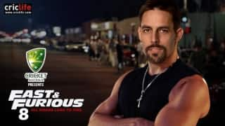 Mitchell Johnson in Fast & Furious 8!