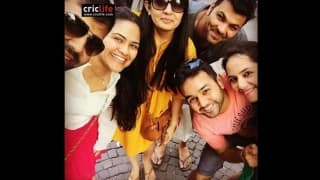 Parthiv Patel and RP Singh enjoying European holiday with their families