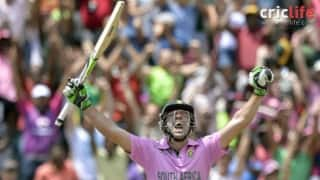 AB de Villiers smashes fastest ODI hundred in 31 balls!