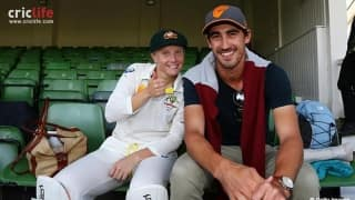 Mitchell Starc spends quality time with girlfriend Alyssa Healy