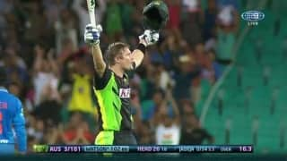 Twitter reacts to Shane Watson's glittering century at Sydney
