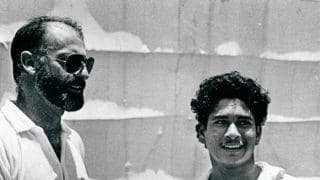 A walk down the memory lane: Tendulkar says Lillee asked him to give up fast bowling for batting