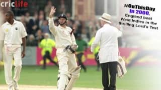 Dominic Cork's day out at Lord's; England pull off a thriller to level series against West Indies