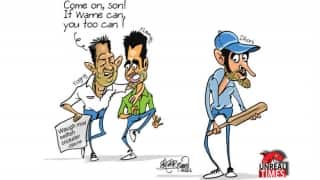 Will Yograj get inspired from Warne and use the 'S' word for Dhoni?