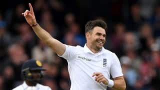 VIDEO: James Anderson displays his football skills with cricket ball