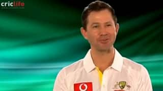 Australian cricketers try to imitate the legendary voice of Richie Benaud