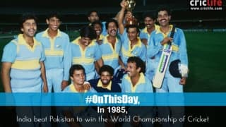 India beat Pakistan to win the World Championship of Cricket