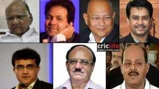 Poll: Who should be the next BCCI President?