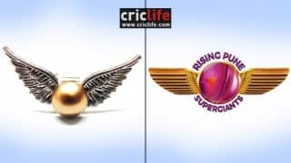 Rising Pune Supergiants' logo inspired by the 'Golden Snitch'?