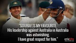 15 memorable quotes on Sourav Ganguly by cricket legends