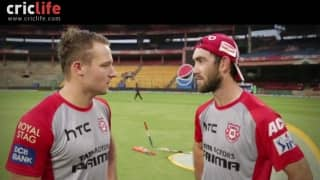 Kings XI Punjab players answer to David Miller's quick questions