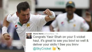 Twitter reacts to 'magical' Yasir Shah's fifer at Lord's