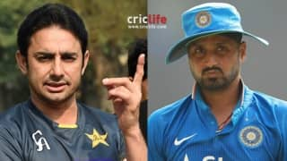 """Revealed: Why Saeed Ajmal called Harbhajan Singh """"chucker"""" and wants to return his awards!"""