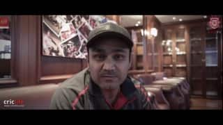 Virender Sehwag, other Kings XI Punjab players raise voice against drug abuse