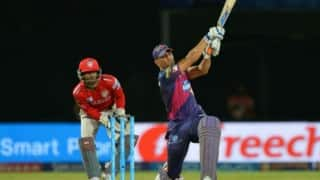 Video: Thrilling finish by MS Dhoni in final over against Kings XI Punjab at Visakhapatnam