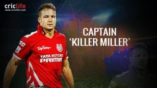 Infographics: David Miller, the new captain of Kings XI Punjab