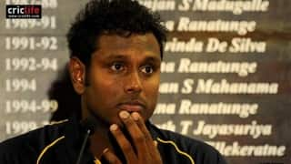 Will Angelo Mathews be able to shoulder dreams of an Isle?