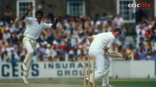 Michael Holding's 14 for 149 demolishes England