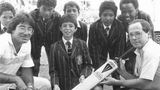 "When Herschelle Gibbs got his ""first sponsored bat"" just a ""few years ago"""