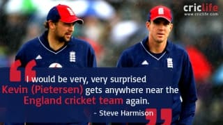 """""""I would be very, very surprised if Kevin gets anywhere near the England cricket team again"""