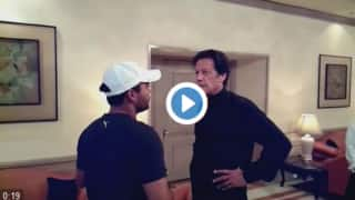 Watch: Umar Akmal stirs controversy by complaining about his batting position to Imran Khan