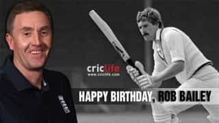 Rob Bailey: 11 facts about the former England batsman-turned-umpire
