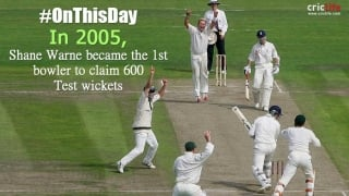 Warne becomes the first bowler to break the 600-Test wicket barrier