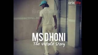 Sushant Singh Rajput's first look as MS Dhoni?