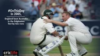 The greatest Test and an immortal moment