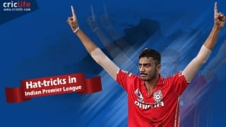 Infographic: History of IPL hat-tricks