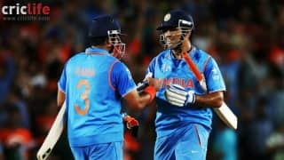 "Suresh Raina says, ""MS Dhoni can't be treated with disrespect"""