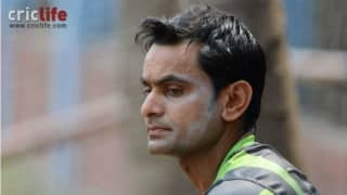Mohammed Hafeez suspended from bowling in international cricket for 12 months