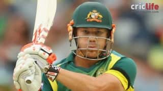 Cricket Australia warns David Warner for verbal spat with Rohit Sharma; rested for next ODI
