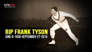 Frank 'Typhoon' Tyson breathes last at 85
