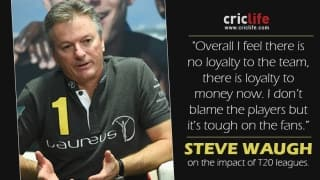Steve Waugh worried about the impact of T20 cricket on the game