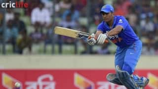 MS Dhoni should continue to bat at No. 4; time India reshuffle their ODI batting order
