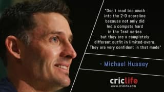 Don't underrate India: Michael Hussey