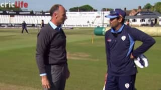 When Nasser Hussain played the famous 'dil-scoop'