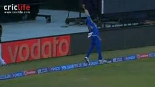 A frame-by-frame analysis of Kieron Pollard's catch of Kevon Cooper in IPL 2014