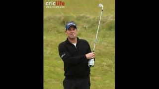 Shane Warne, the enfant terrible now smokes on the golfing greens