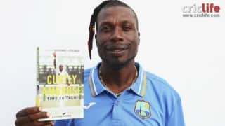 Curtly Ambrose releases his book - 'Time to talk'