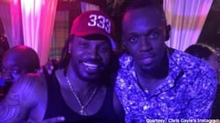 "The ""World Bosses"" Night Out: Usain Bolt, Chris Gayle on the house!"