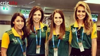 ICC Cricket World Cup 2015: Proteas WAGs add glamour to South Africa-West Indies match