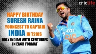 Suresh Raina: 11 facts about the dangerous southpaw