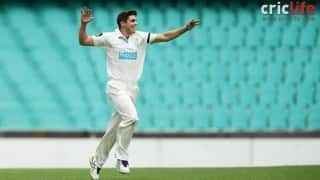 Sean Abbott: Back with a bouncer and a bang!