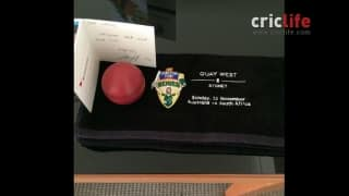 Maxwell tweets about hotel's thoughtful welcome gift