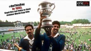 10 incredible stats and facts about the 1983 World Cup final in which India beat the West Indies