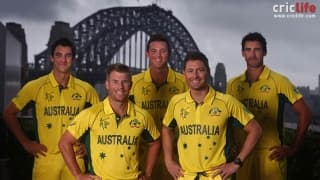 ICC World Cup 2015: Australia announce squad